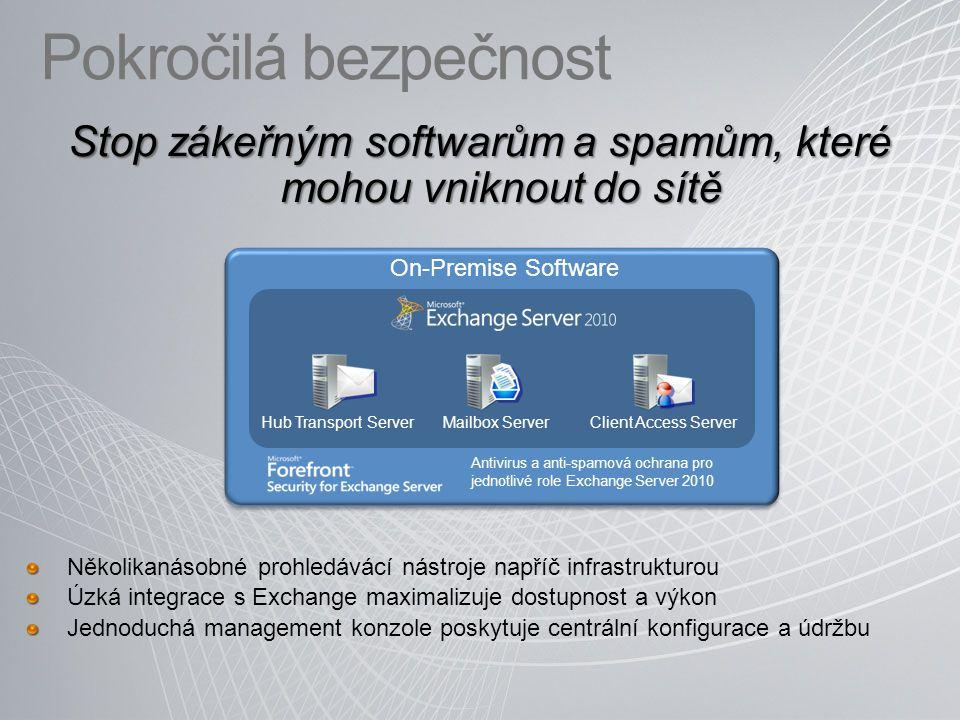Stop zákeřným softwarům a spamům, které mohou vniknout do sítě