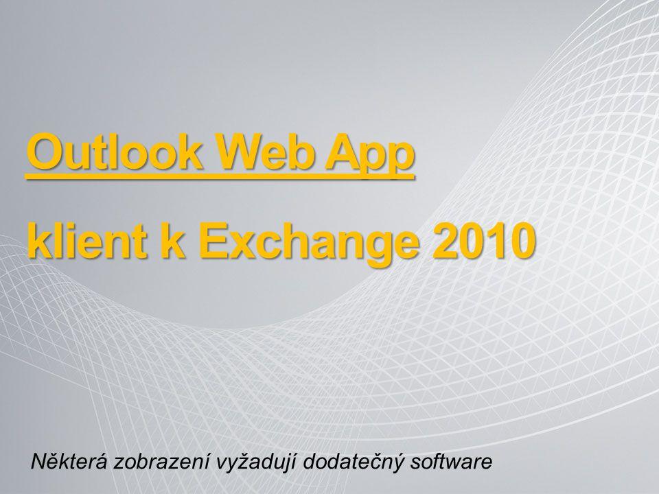 Outlook Web App klient k Exchange 2010