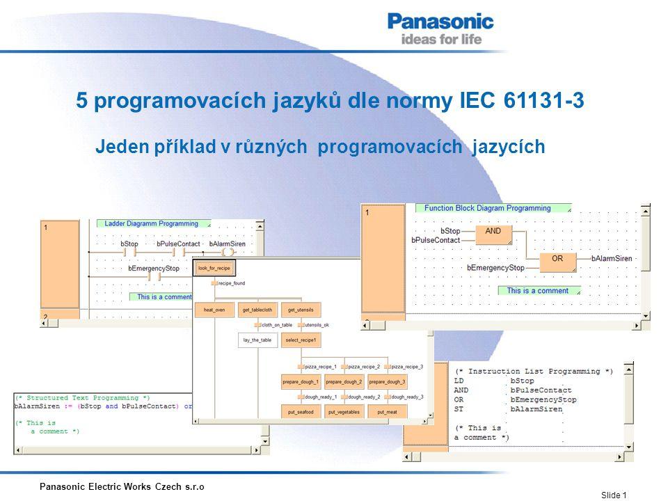 Jeden příklad v různých programovacích jazycích