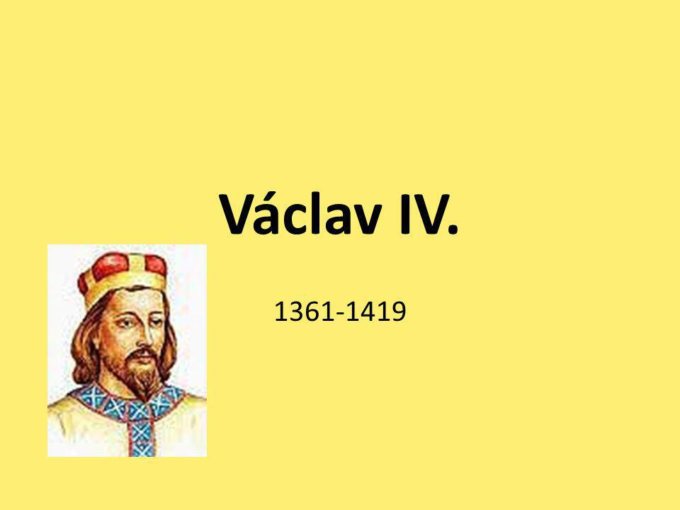 Václav IV. 1361-1419
