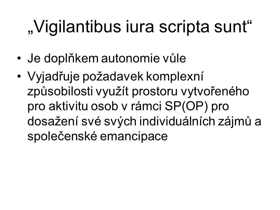 """""""Vigilantibus iura scripta sunt"""