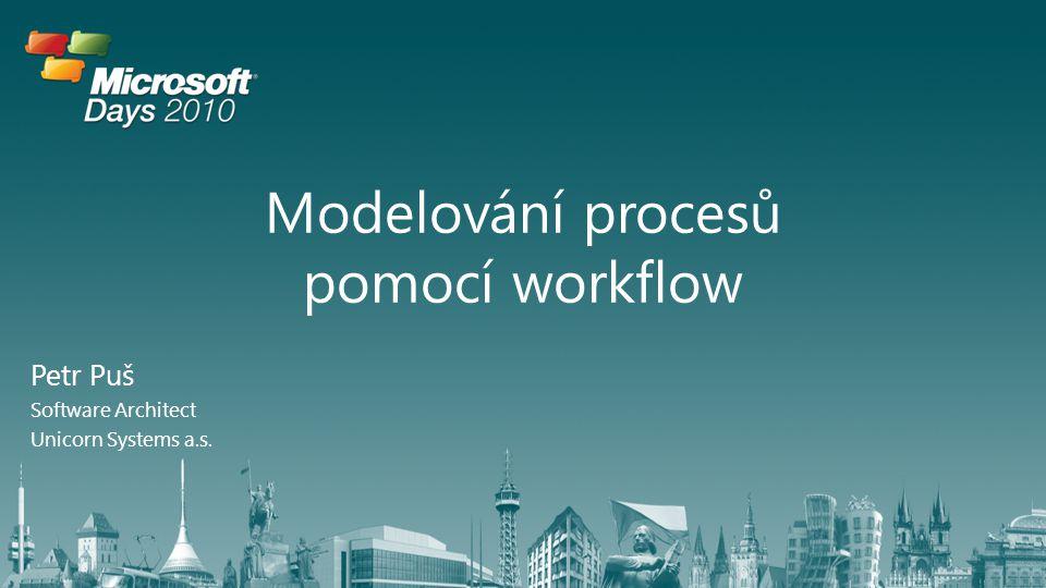 Modelování procesů pomocí workflow