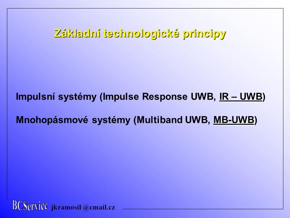 Základní technologické principy