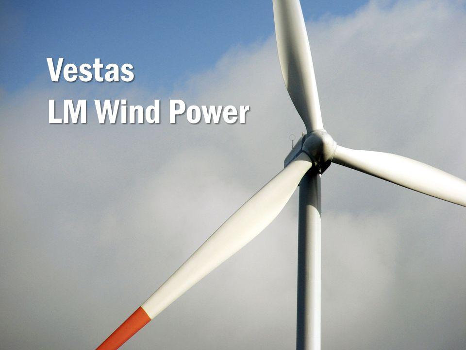 Vestas LM Wind Power Výrobci listů