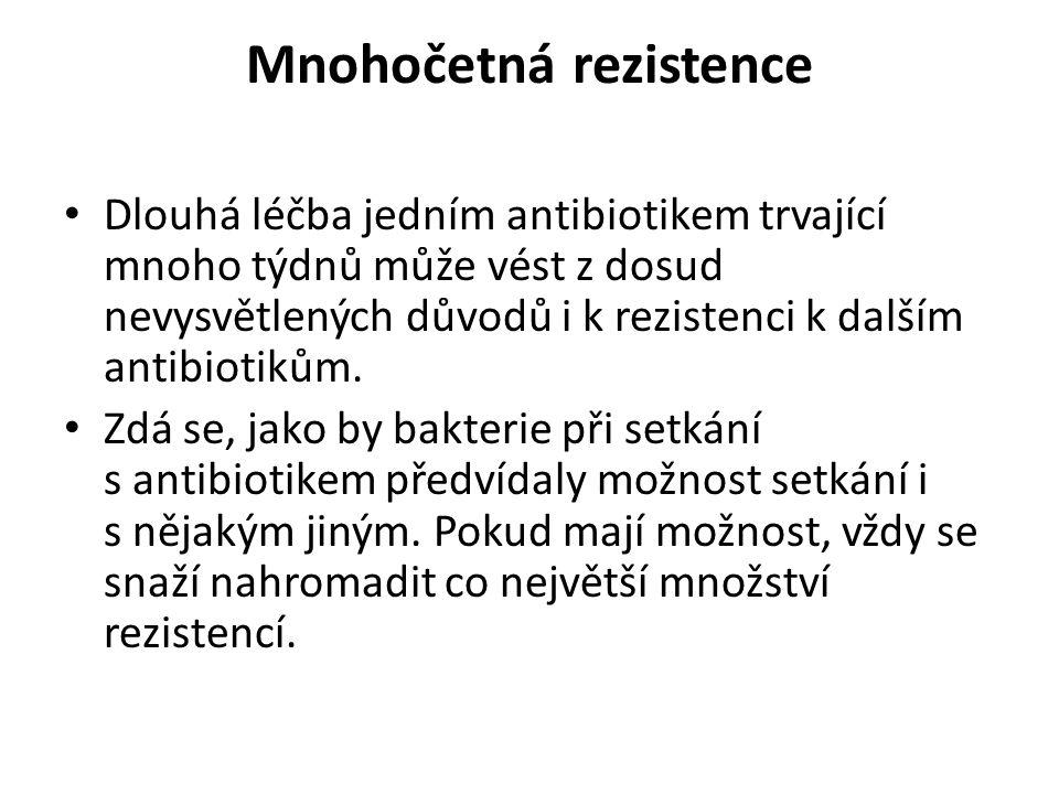 Mnohočetná rezistence