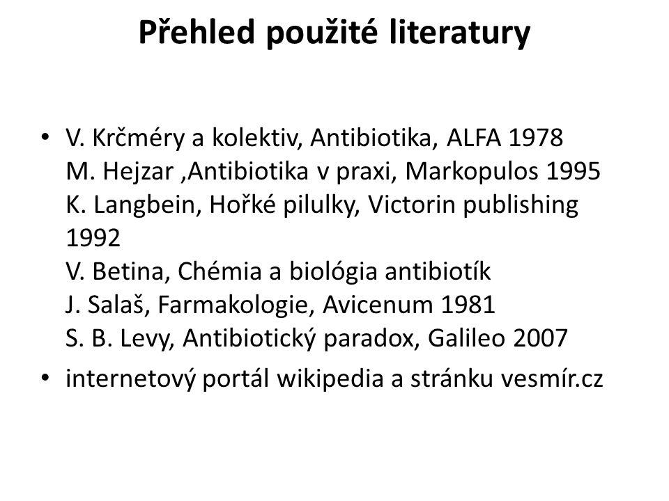 Přehled použité literatury