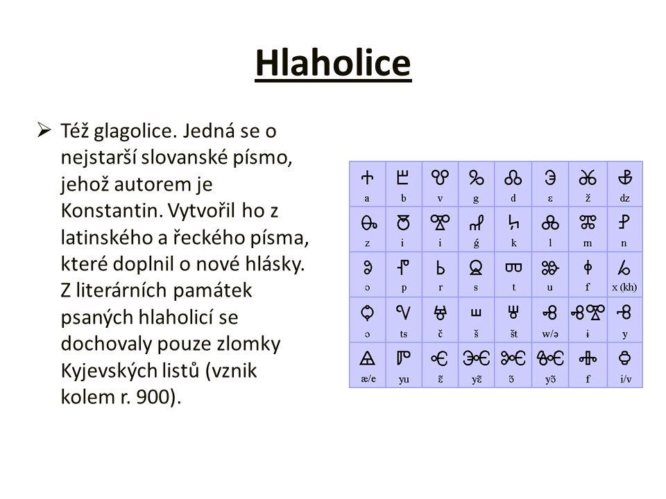 Hlaholice
