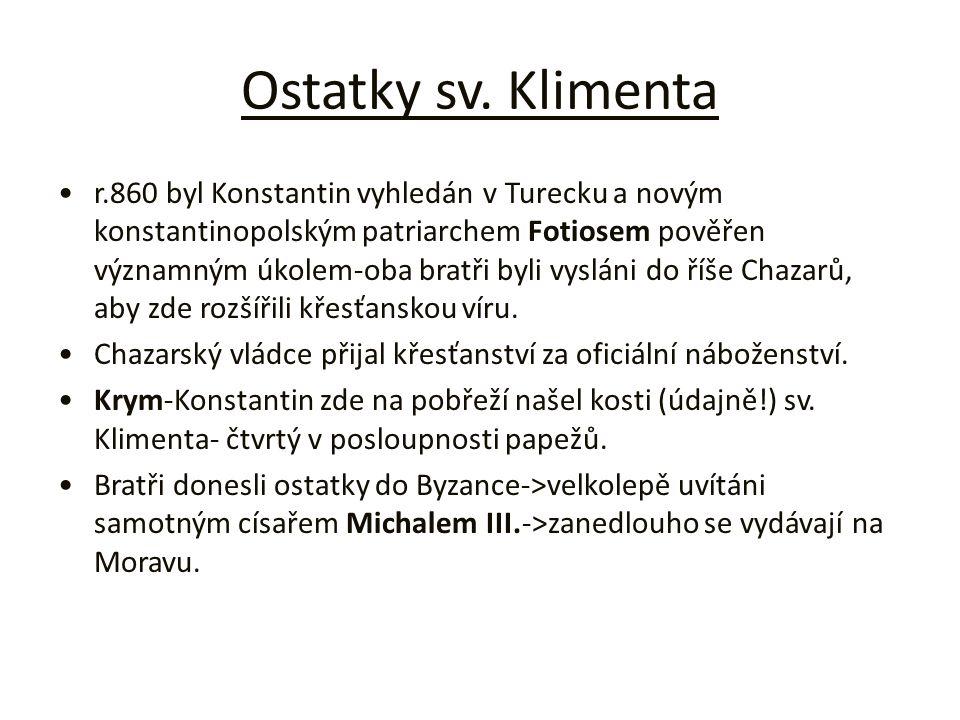 Ostatky sv. Klimenta