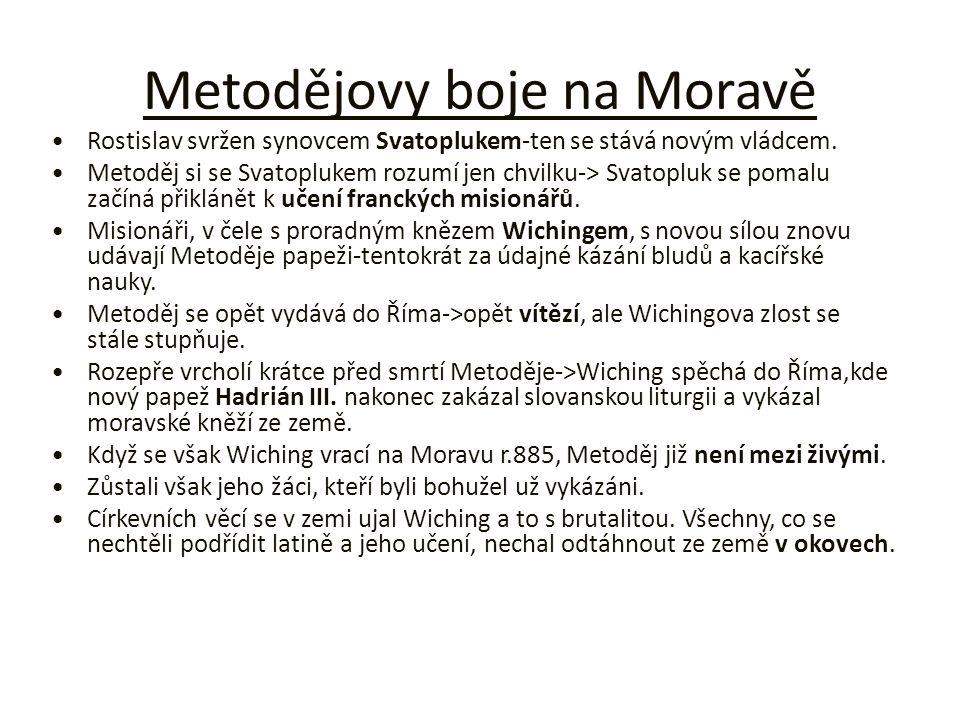 Metodějovy boje na Moravě