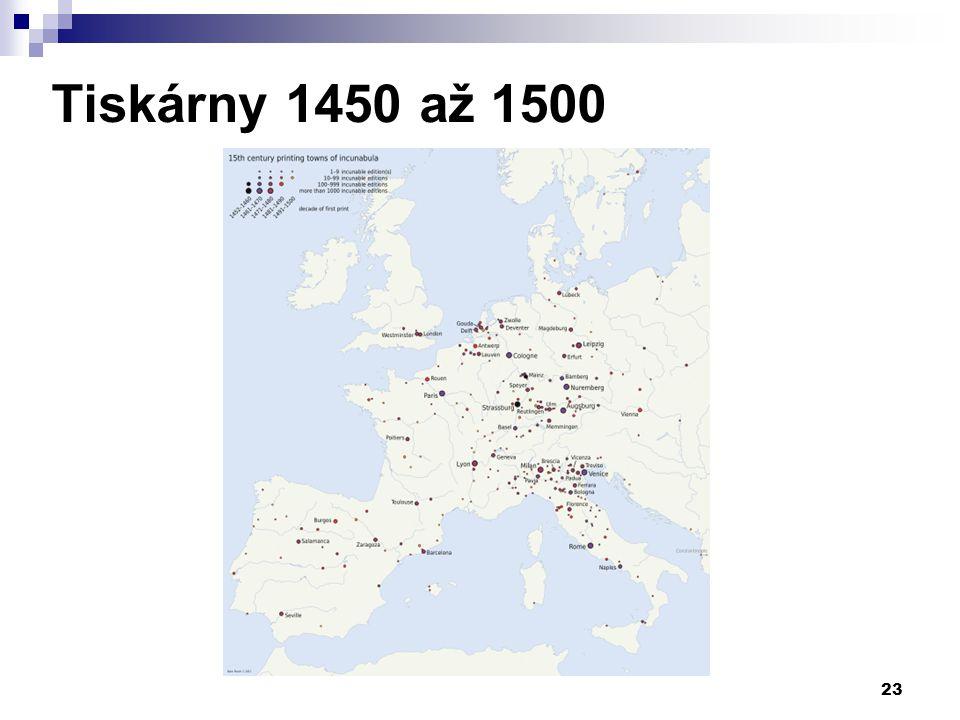Tiskárny 1450 až 1500
