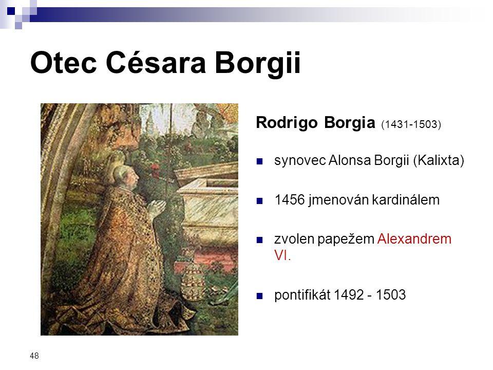 Otec Césara Borgii Rodrigo Borgia (1431-1503)