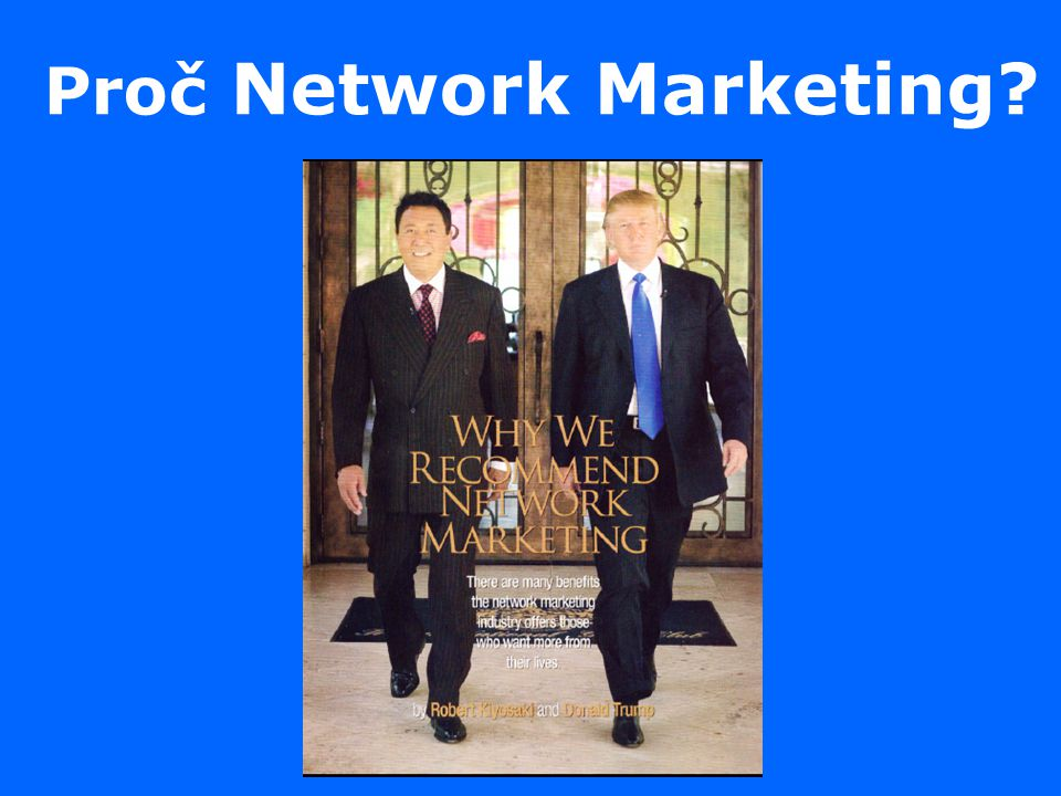 Proč Network Marketing