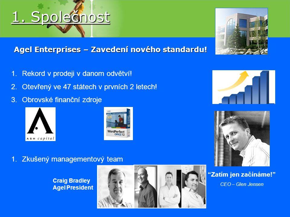 Agel Enterprises – Zavedení nového standardu!