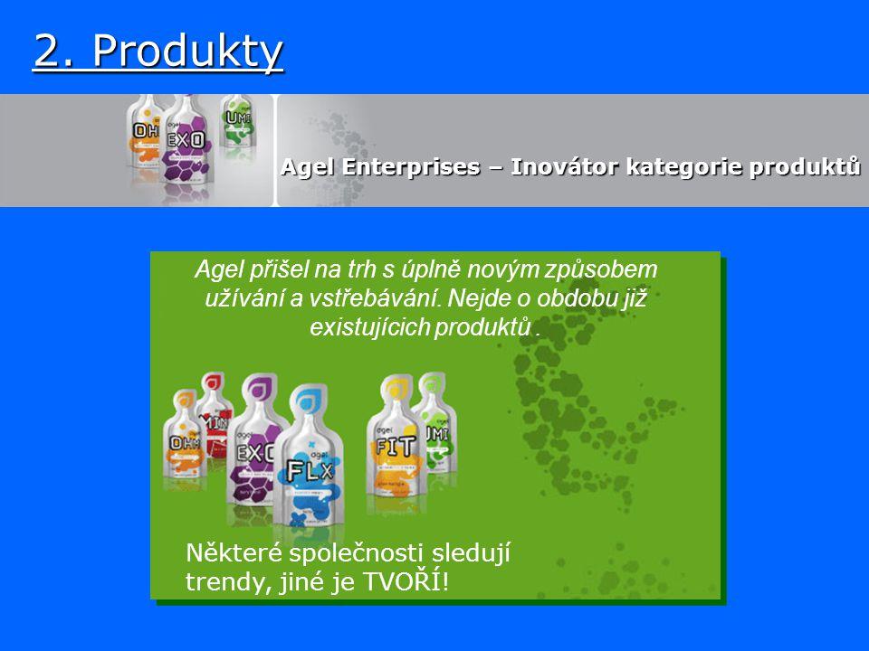 Agel Enterprises – Inovátor kategorie produktů