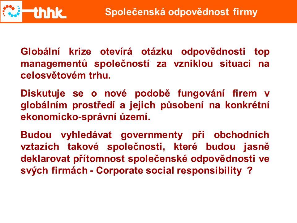 Společenská odpovědnost firmy
