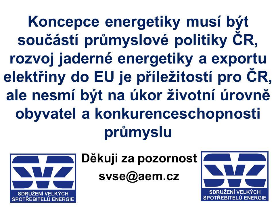 Děkuji za pozornost svse@aem.cz
