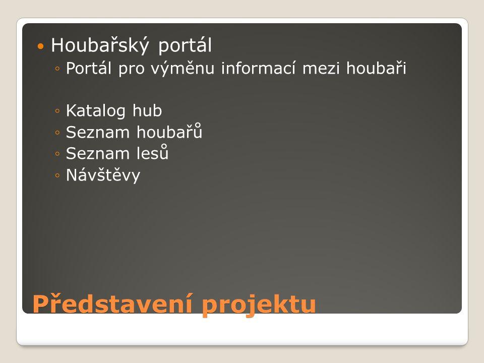 Představení projektu Houbařský portál