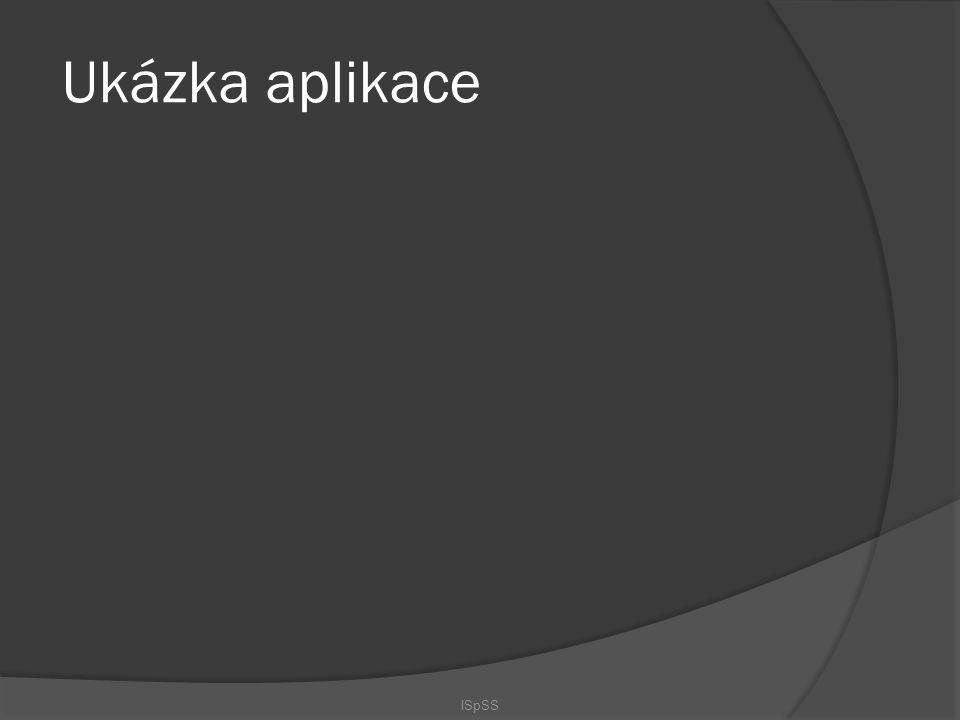 Ukázka aplikace ISpSS