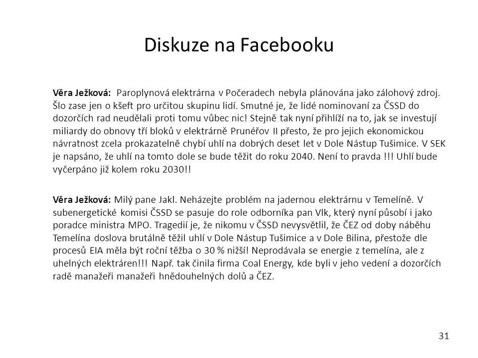 Diskuze na Facebooku