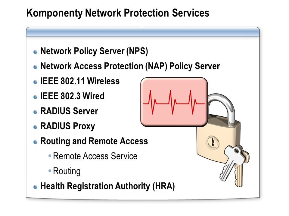 Komponenty Network Protection Services