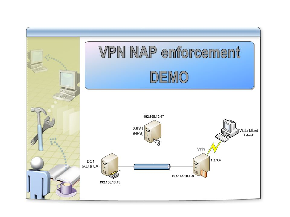 VPN NAP enforcement DEMO