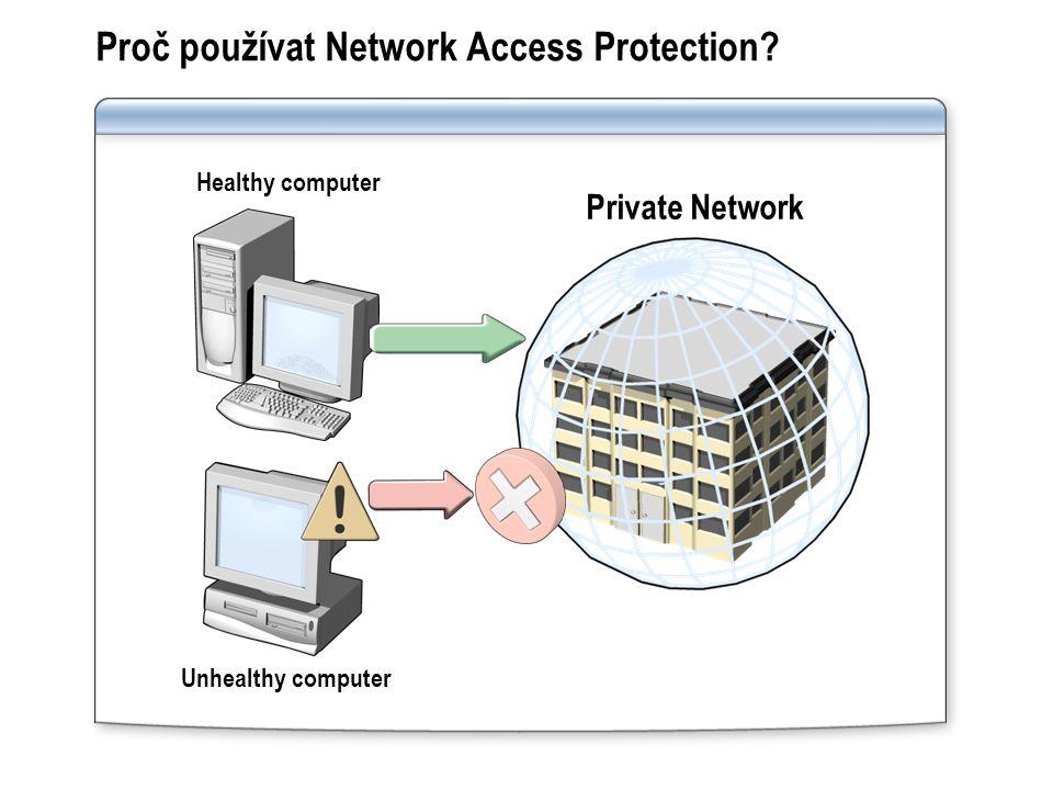 Proč používat Network Access Protection