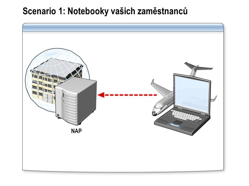 Scenario 1: Notebooky vašich zaměstnanců
