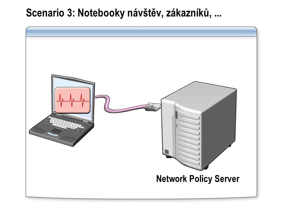 Scenario 3: Notebooky návštěv, zákazníků, ...
