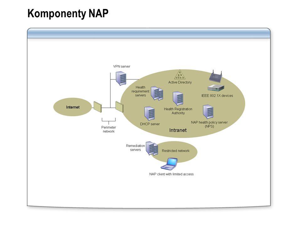 Komponenty NAP