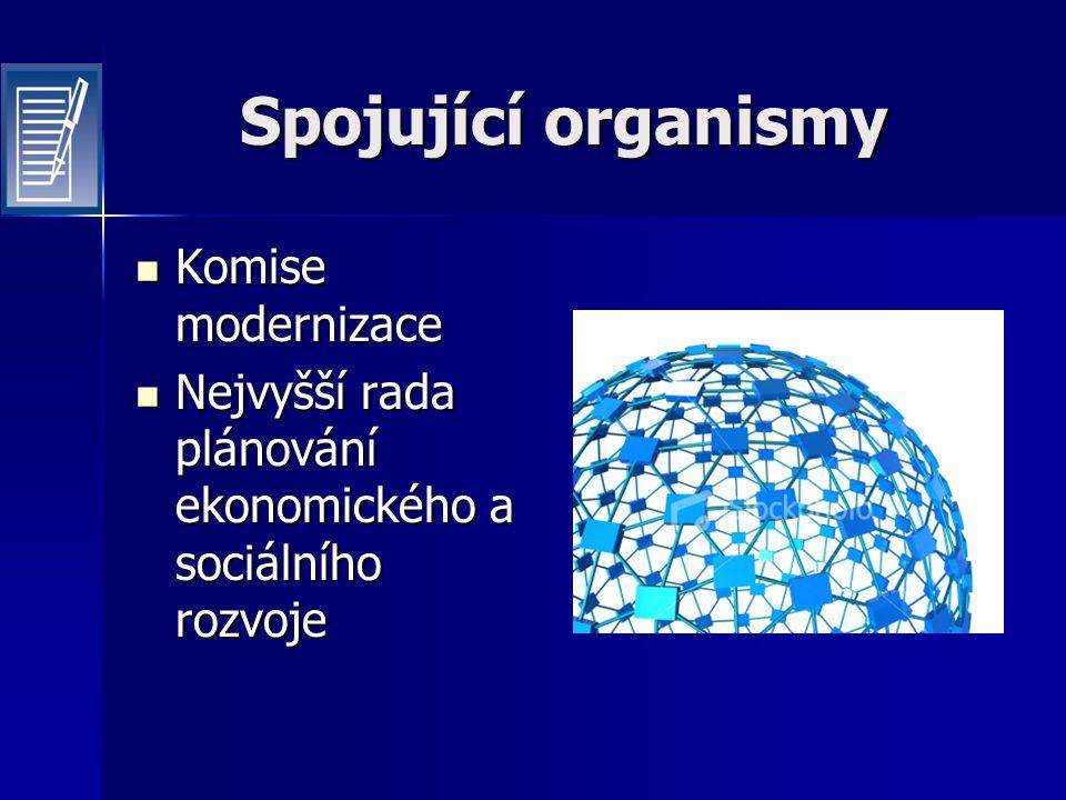 Spojující organismy Komise modernizace