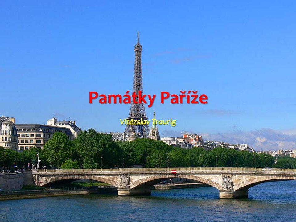 Památky Paříže Vítězslav Traurig