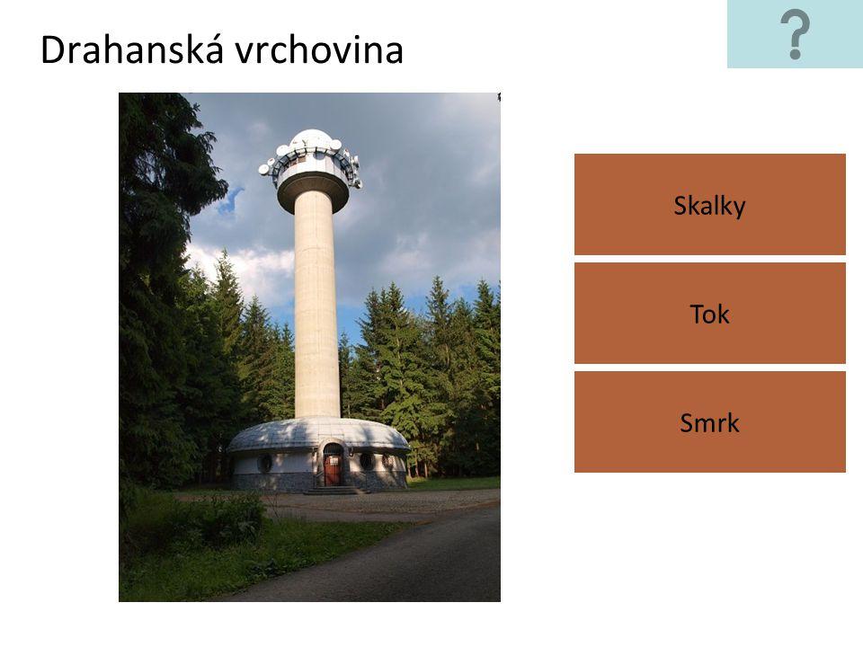 Drahanská vrchovina Skalky Tok Smrk