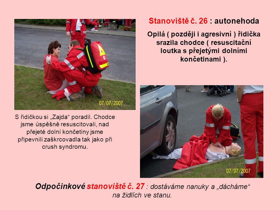 Stanoviště č. 26 : autonehoda