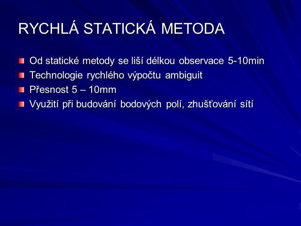 RYCHLÁ STATICKÁ METODA