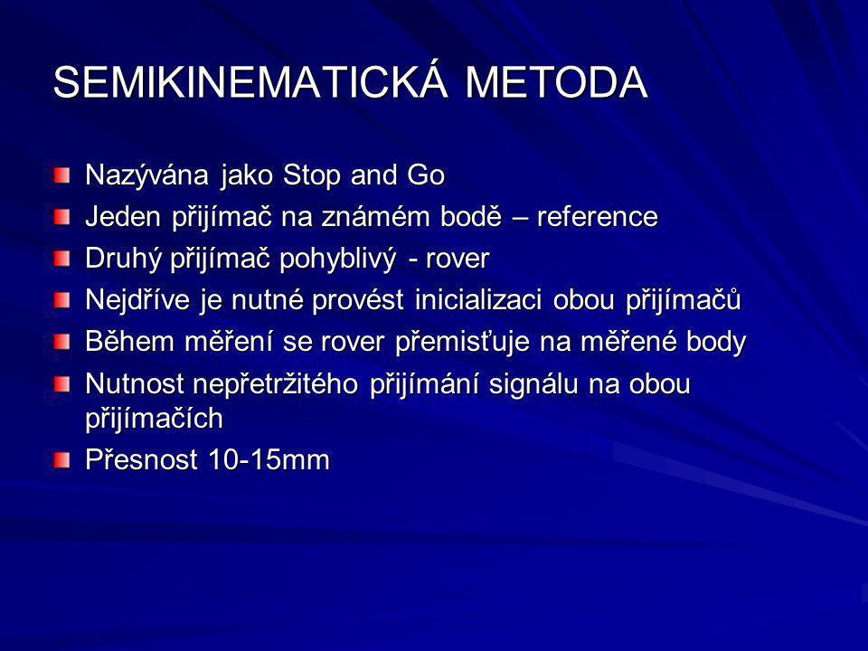 SEMIKINEMATICKÁ METODA