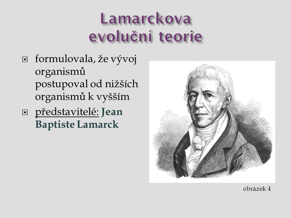 Lamarckova evoluční teorie
