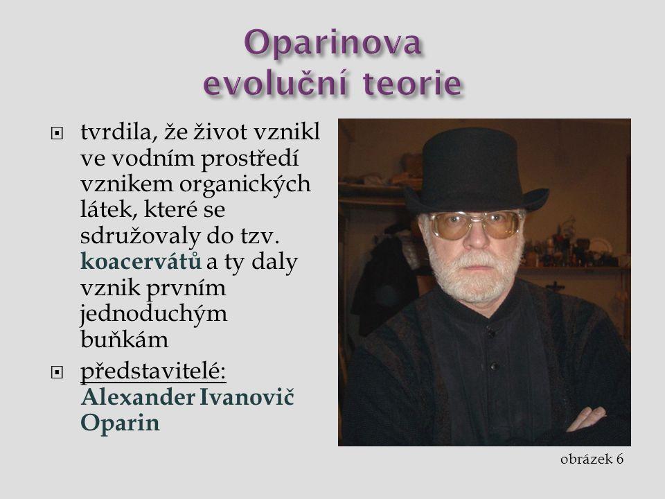 Oparinova evoluční teorie