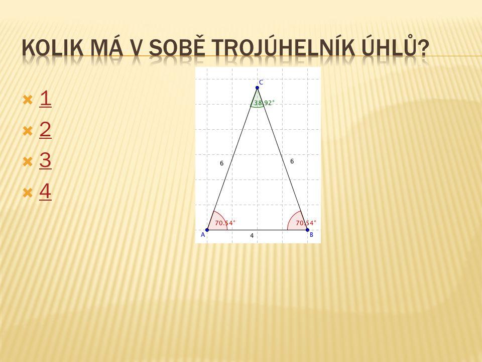 Kolik má v sobě trojúhelník úhlů