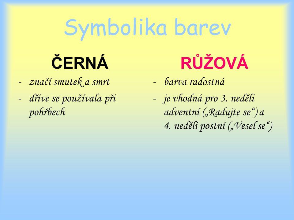 Symbolika barev ČERNÁ RŮŽOVÁ značí smutek a smrt