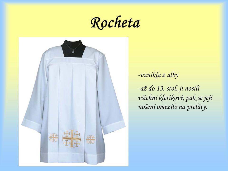 Rocheta vznikla z alby. až do 13. stol.