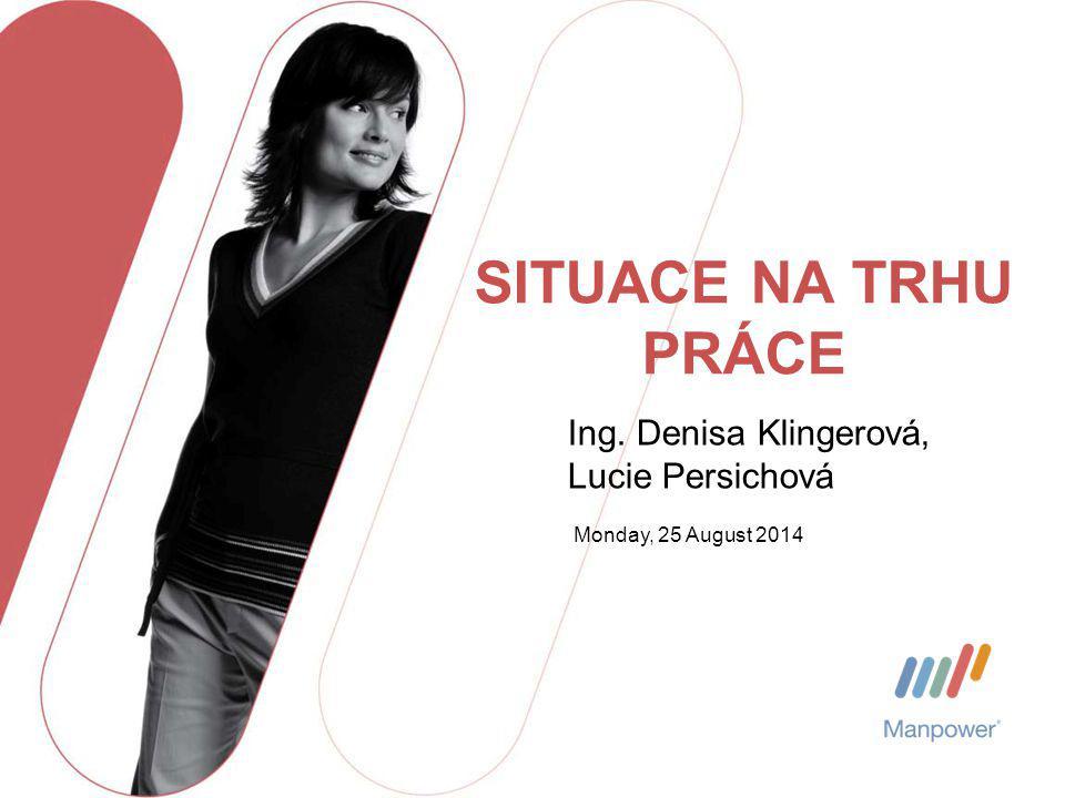 SITUACE NA TRHU PRÁCE Ing. Denisa Klingerová, Lucie Persichová