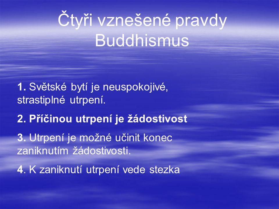 Čtyři vznešené pravdy Buddhismus