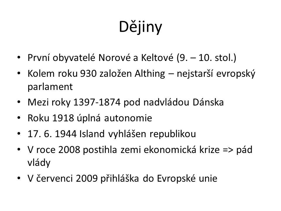 Dějiny První obyvatelé Norové a Keltové (9. – 10. stol.)