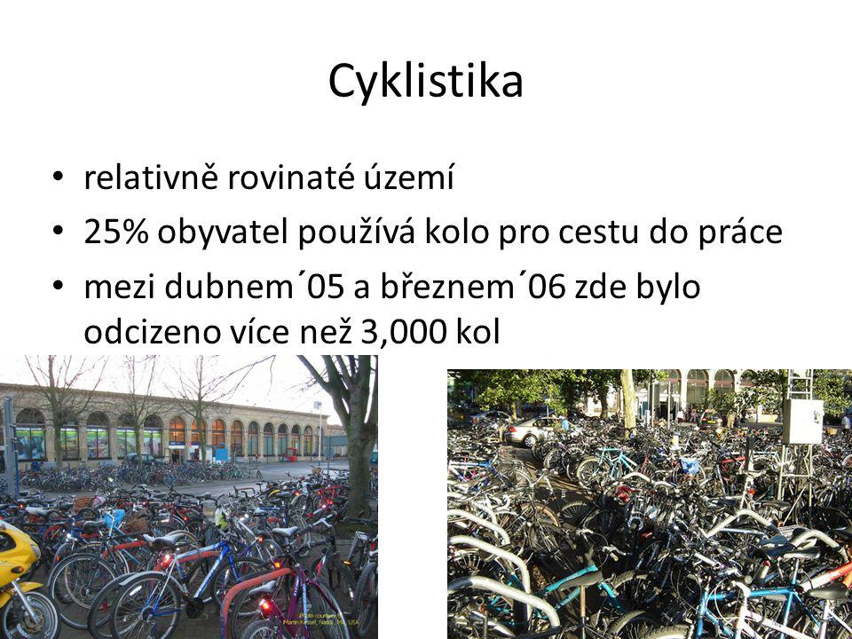 Cyklistika relativně rovinaté území