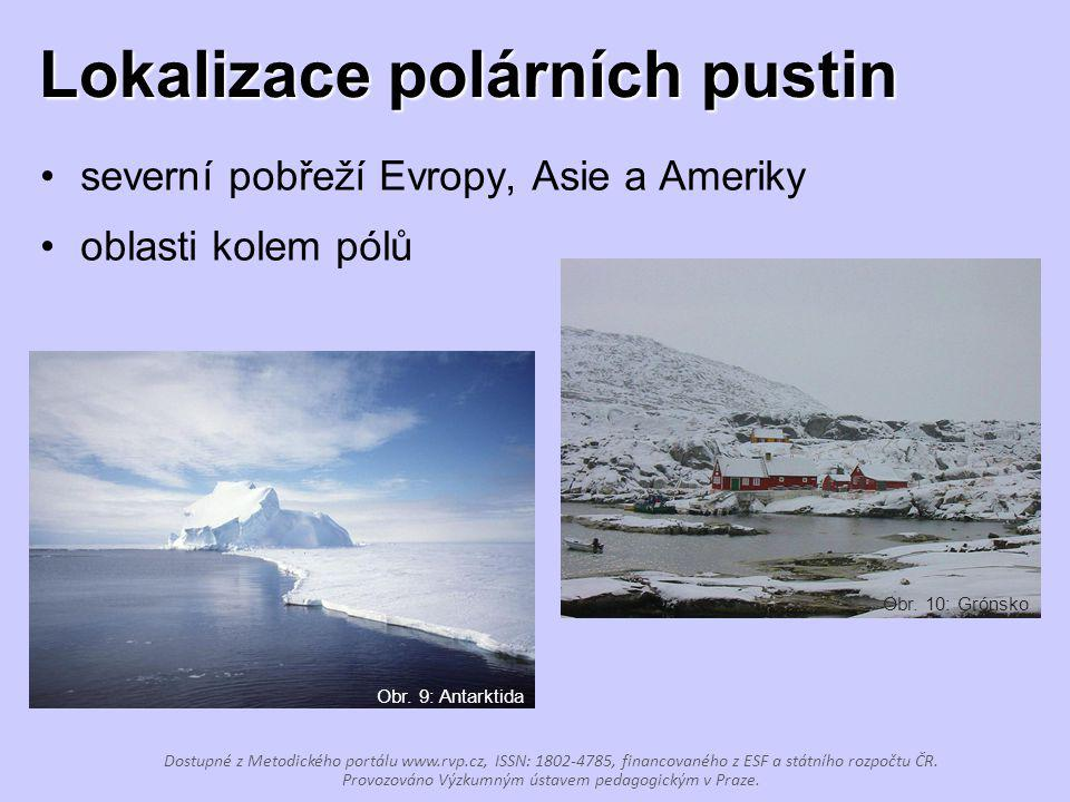 Lokalizace polárních pustin