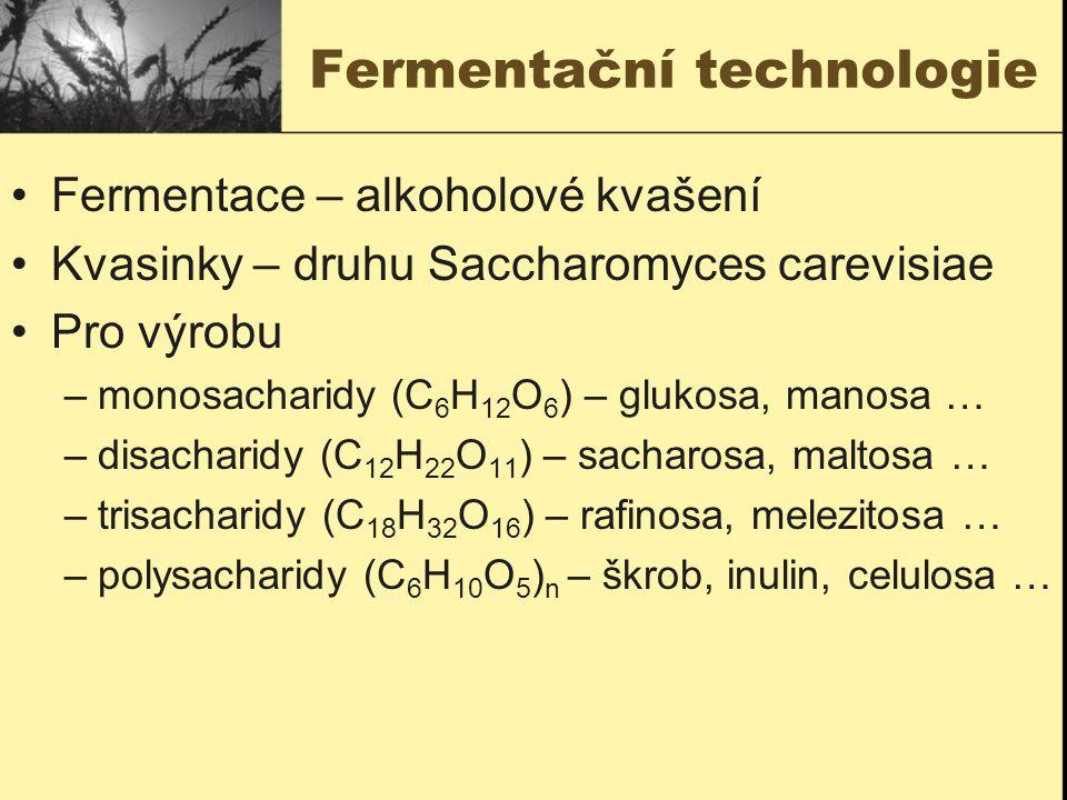 Fermentační technologie