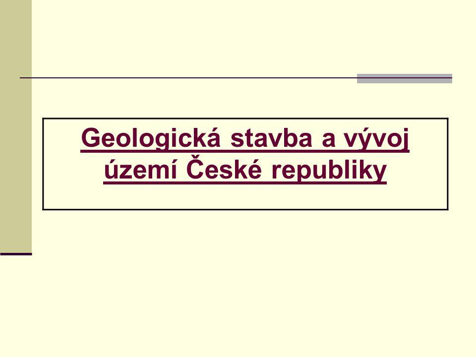 Geologická stavba a vývoj území České republiky
