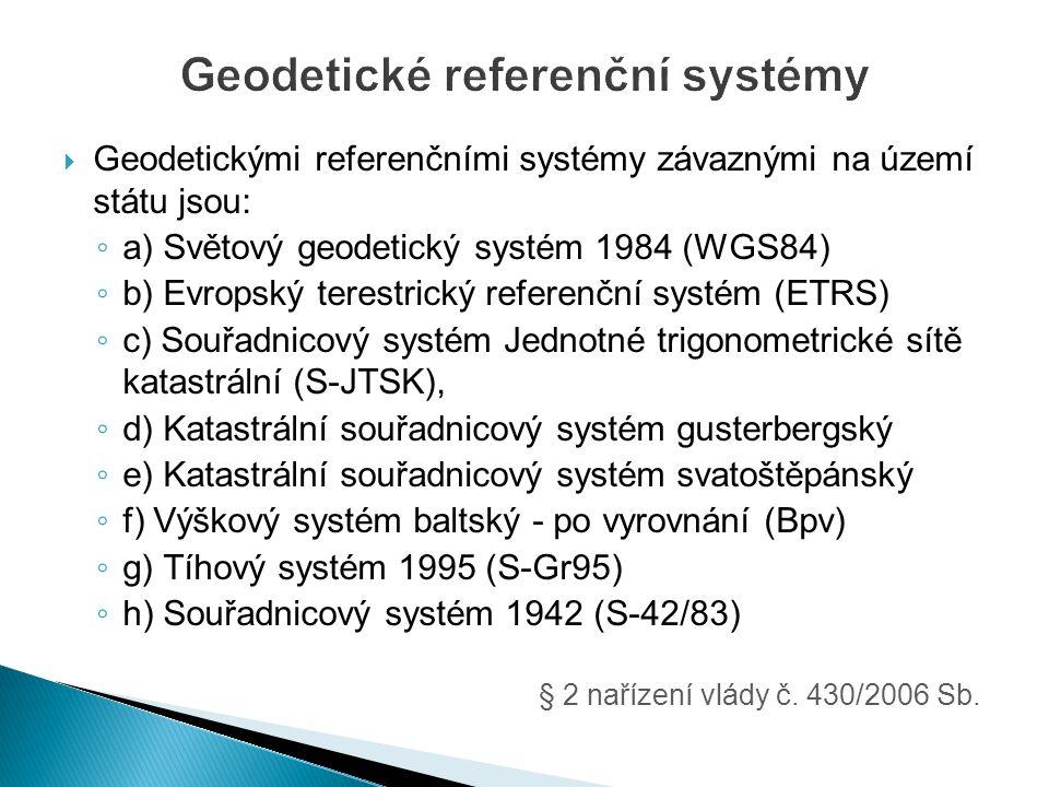 Geodetické referenční systémy