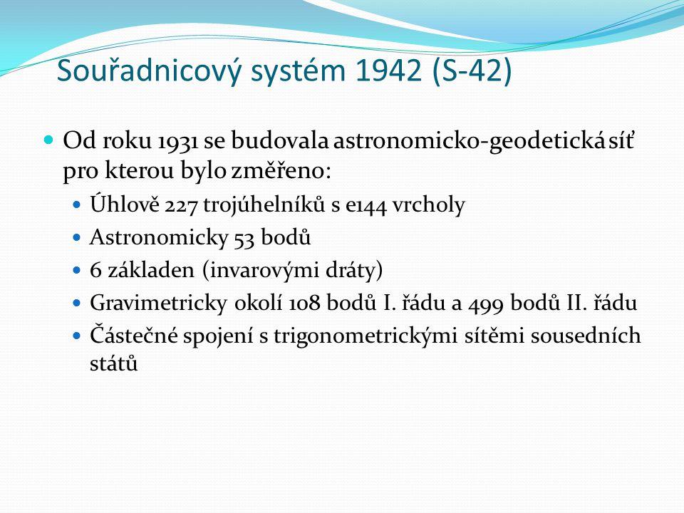 Souřadnicový systém 1942 (S-42)