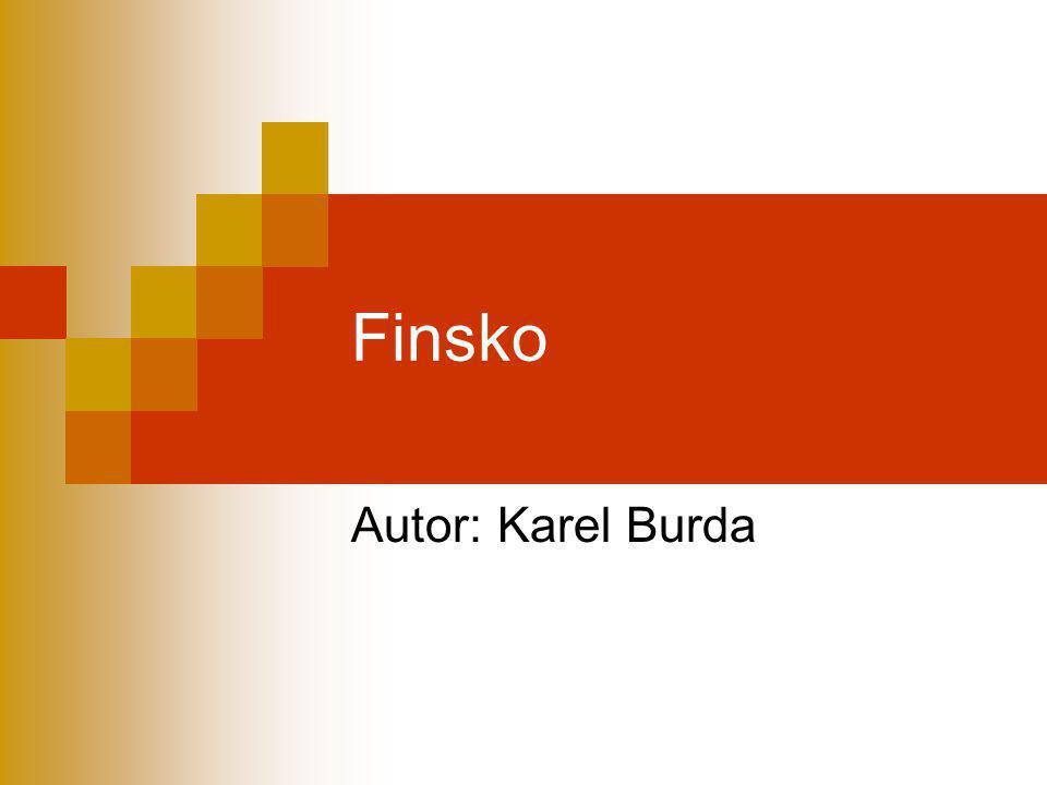 Finsko Autor: Karel Burda